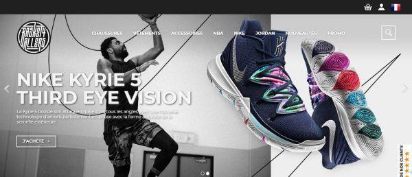 meilleur site sneakers