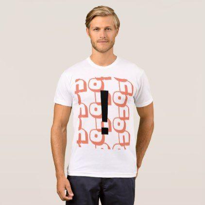 no T-Shirt - pattern sample design template diy cyo customize