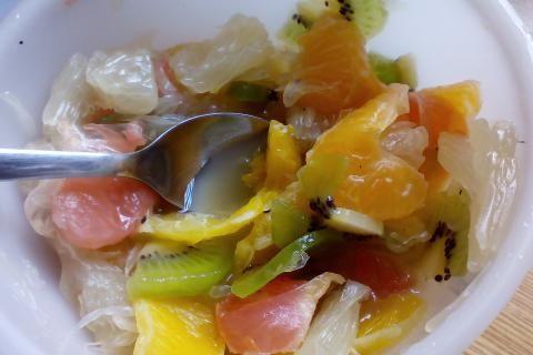 Jak připravit salát citrusová bomba | recept