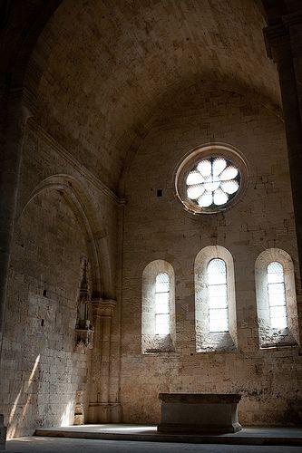 Abbaye de Silvacane (Silvacane Abbey), Provence, France.