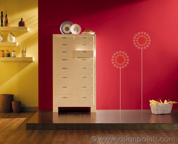 asian paints colour shades combination