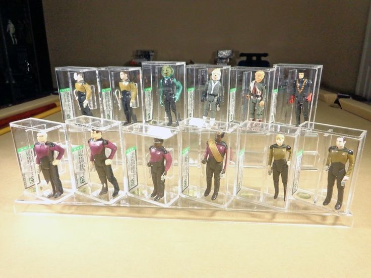 1988 Galoob Star Trek Next Generation STNG AFA U90 Set Perfect Collection | eBay