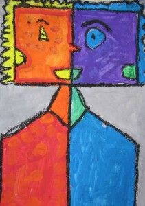 1st grade Picasso's