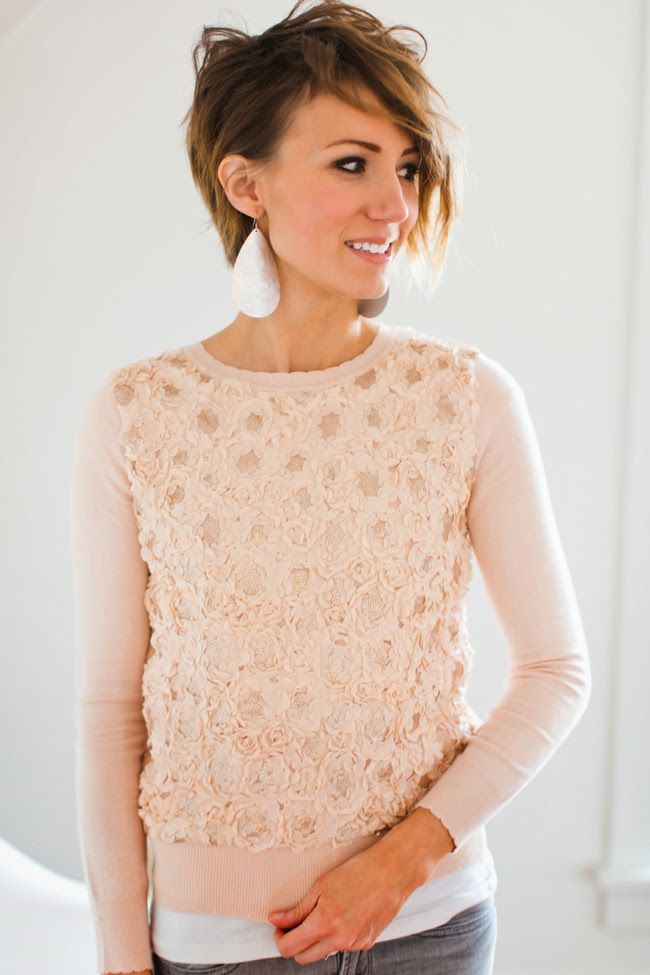 This sweater is darling! I love the color and the pattern! Might have to order when restocked.