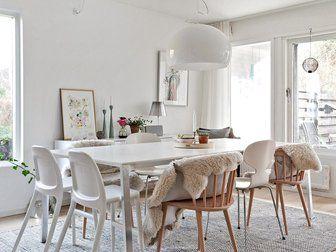 Bilder, Kök/matplats, Lampa, Matbord, Stol - Hemnet Inspiration