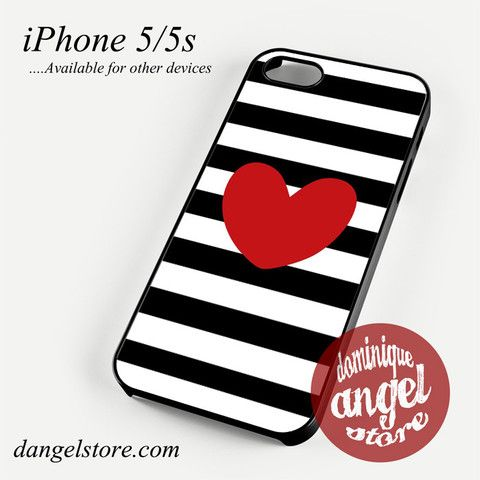Cute Heart Phone Case for iPhone 4/4s/5/5c/5s/6/6s/6 Plus for $10.99