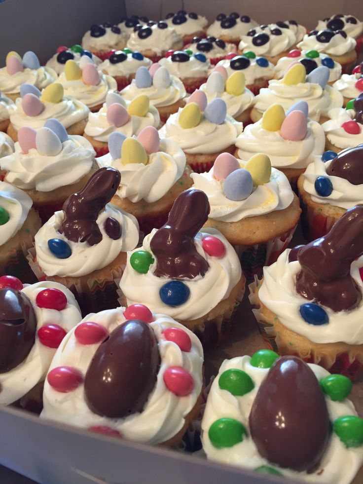 Easter Hunt/Adoption day cupcakes