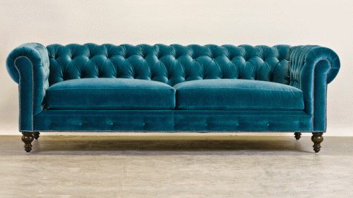 Comfortable Couch Company Chesterfield Couch