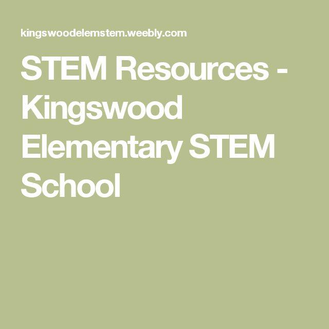 STEM Resources - Kingswood Elementary STEM School