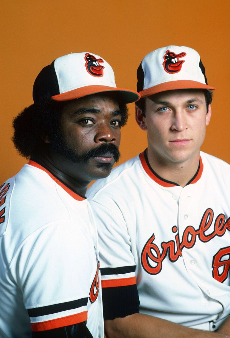 Eddie Murray & Cal Ripken Jr. - Baltimore Orioles