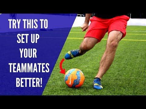 This video breaks down how to cross the soccer ball better in the game.