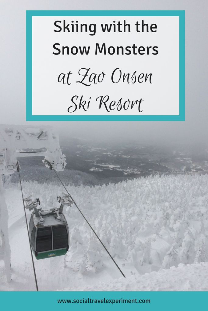 Skiing with the Snow Monsters at Zao Onsen Ski Resort | Travel Japan | Winter Holiday | Snowboarding in Japan | Ice Monsters | Yamagata Prefecture | Things to do in Japan | #JapanTravel #JapanItinerary