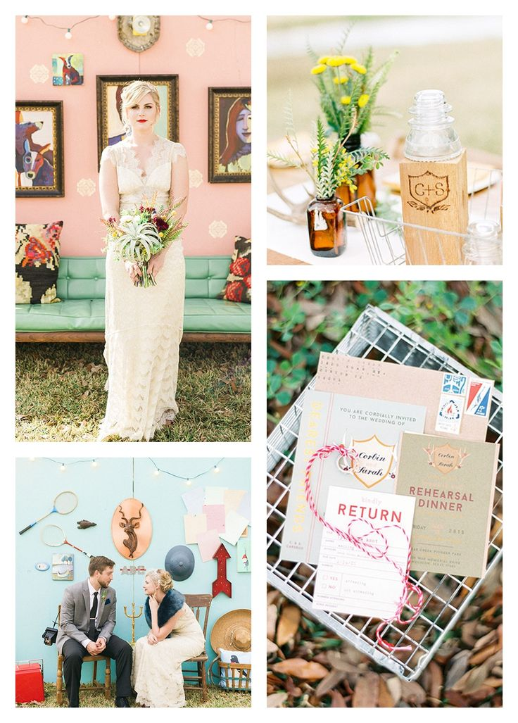 wes anderson style wedding