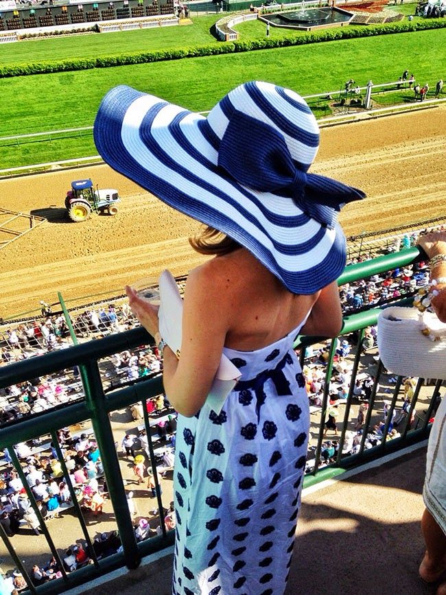 Vineyard Vines sundress and hat.
