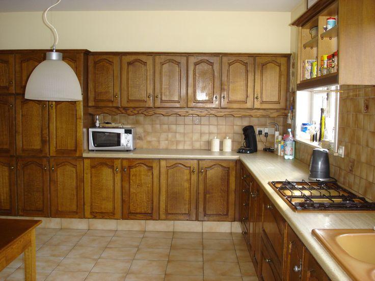 Eiken Keuken Schilderen : Schilderen op Pinterest – Keukenkasten, Krijt Verf Keuken en Kasten