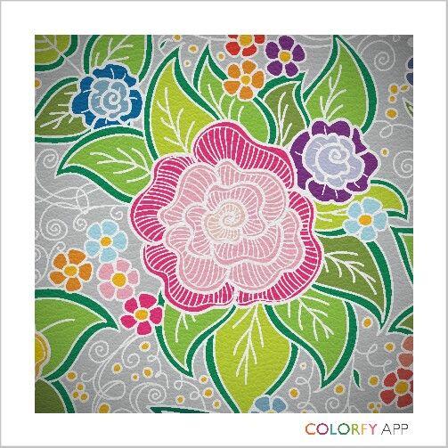 #flower #colour #colouringapp #hobby