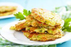 Tortitas de Brócoli con Queso Cheddar y Quinoa.