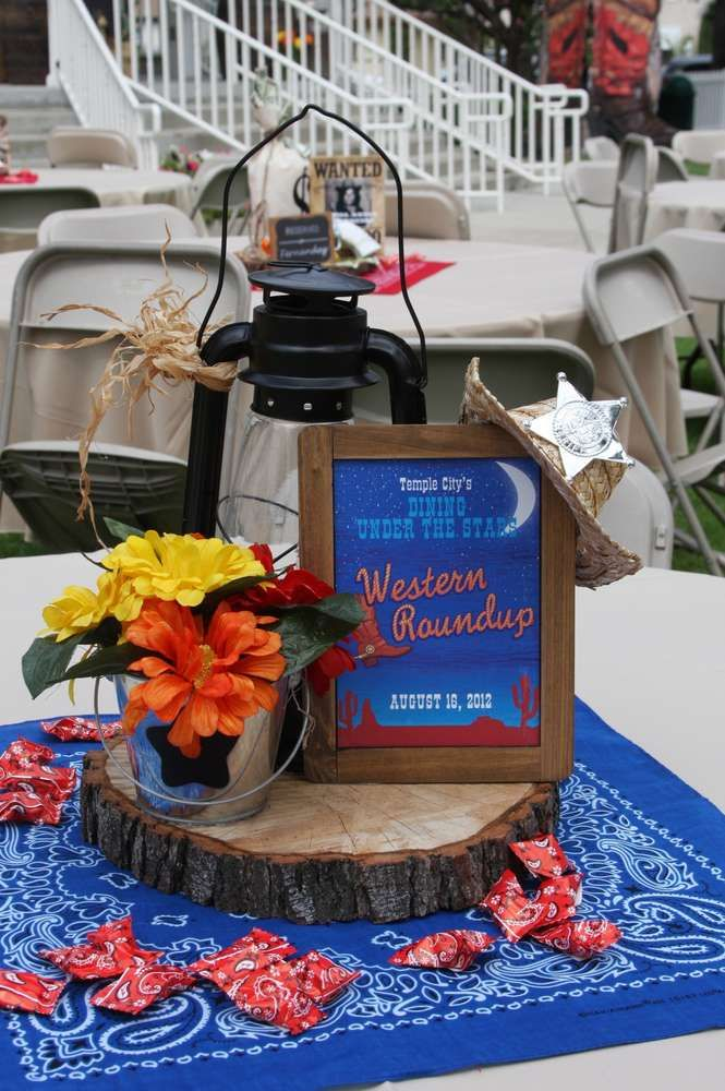 Western Fundraiser Party Ideas | Photo 4 of 25 | Catch My Party