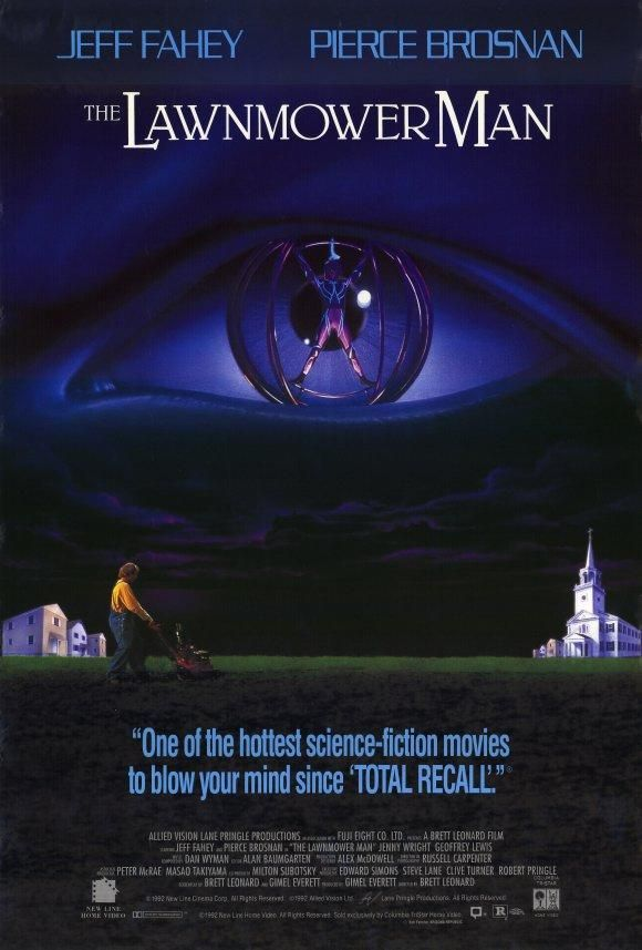 The Lawnmower Man : Unrated Director´s Cut (1992) - Pierce Brosnan DVD