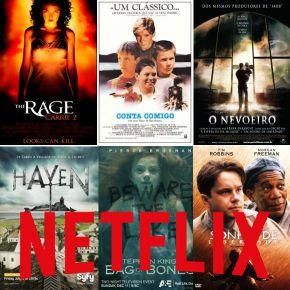 CCL - Cinema, Café e Livros: 9 Filmes de Stephen King para assistir na Netflix