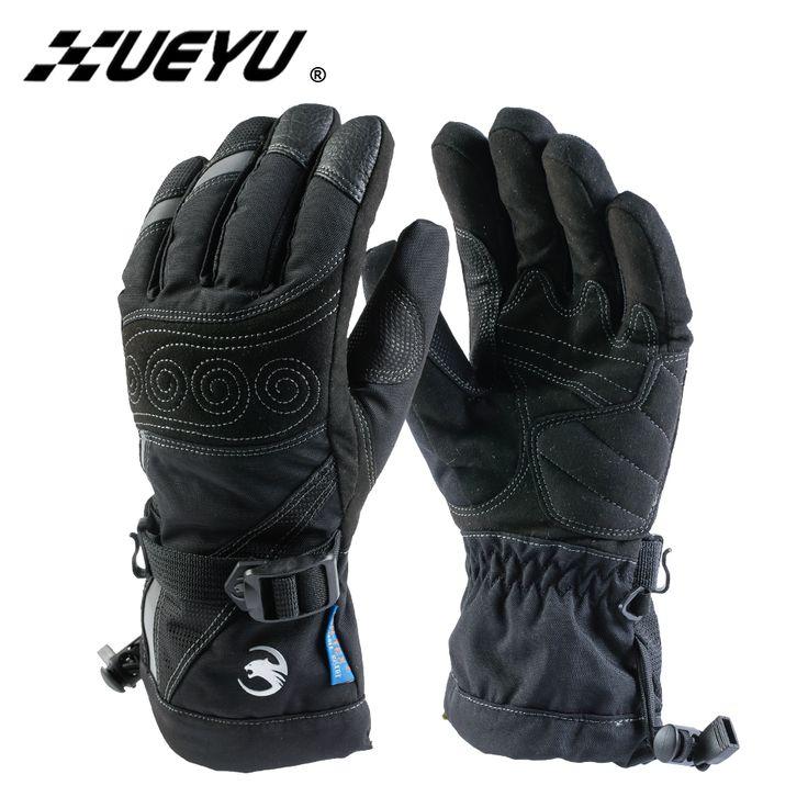 XUEYU Autumn Winter Motorcycle Gloves Motorcycle Men Women Cold-proof Waterproof Motorcross Gloves Snowboard Skiing Moto Gloves