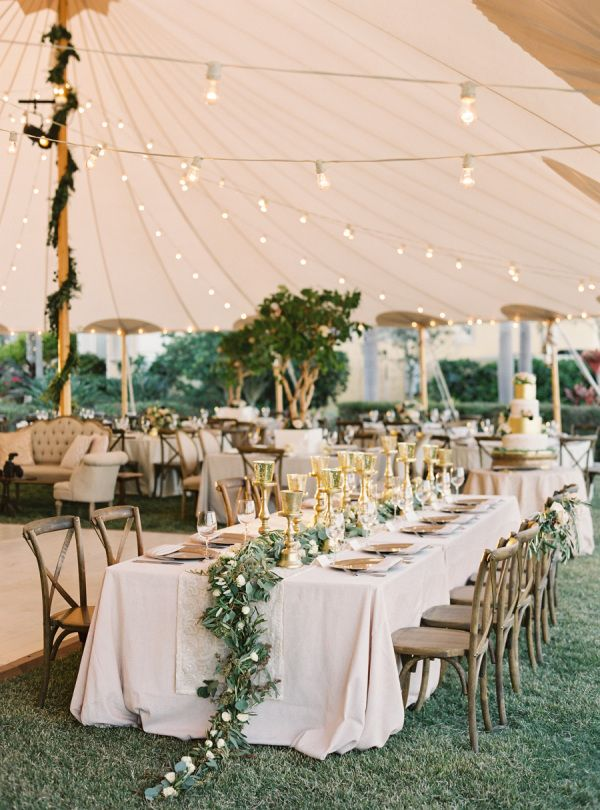 An At-Home Wedding We'd Die to Attend! – Style Me Pretty