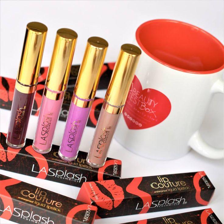#LipCouture by #LaSplash.. Το μόνο σίγουρο είναι πως θα τραβήξεις όλα τα βλέμματα στα χείλη σου!  🆕🔝💄❤️ Find Here➡️ https://goo.gl/7rqIoF ✔️ #beautytestbox #beautytestboxeshop #mattelips #lipstick #makeup #GreekEshop #cosmetics #beauty #musthave #beautyproducts #ShippingToCyprus #instapic #picoftheday