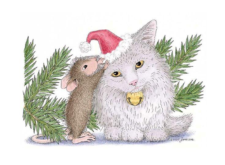 Ellen Jareckie (2)   Мышки-проказники...Зимние шалости. Обсуждение на LiveInternet - Российский Сервис Онлайн-Дневников