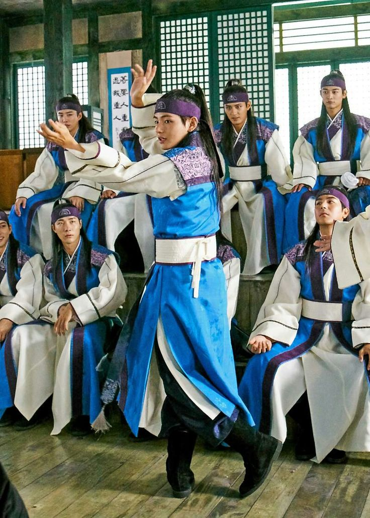 Taehyung ❤ Hwarang Photo! #BTS #방탄소년단