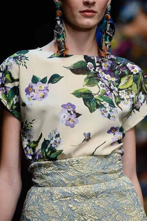 Dolce & Gabbana   Spring 2013 Details