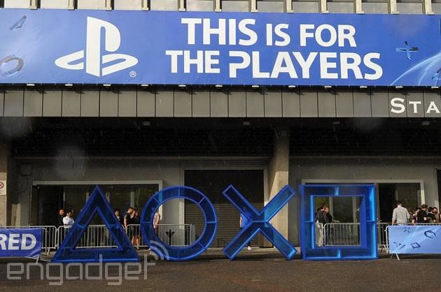 Live from Sony's PlayStation event at Gamescom 2014!