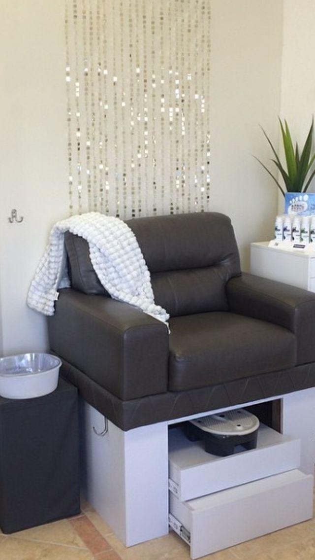Creative Pedicure Station  Savvy Salons using Belava in 2019  Pedicure station Beauty salon