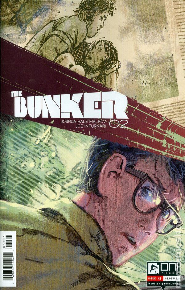 Bunker (2014 Oni Press) 2A Oni Press Modern Age Comic Book covers 2