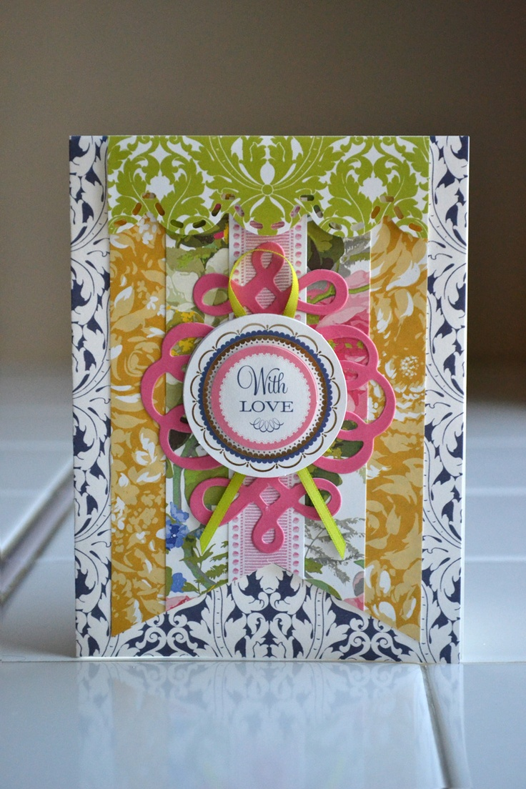 The © Anna Griffin, Inc. Cutting Garden Card Making Kit contains a bright, cheerful garden of cardstock, die cut papers and stickers that are perfect for crafting cards for any occasion!