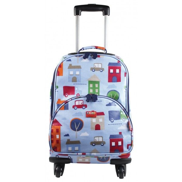 These wheelie cases are perfect for travel . They are the perfect size for cabin luggage, they have 4 wheels and are easy to pull or push around.