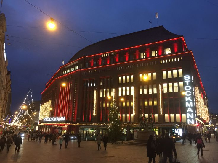 Stockmann at Christmas time