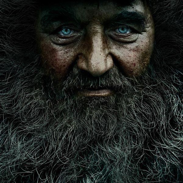 Faltige Gesichter von Andrey Zharov_004
