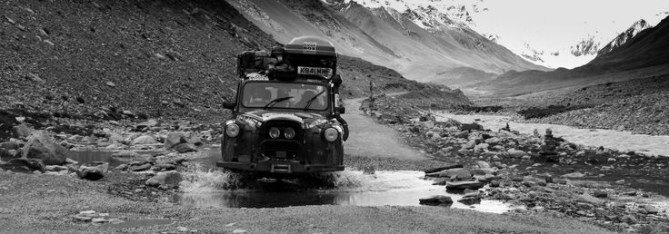 Returning from Everest in a London Taxi. #adventure  More info: www.mattprior.co.uk