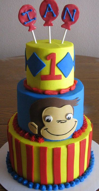 curious george birthday cake 17 best images about ideas for cakes on cakes 3236