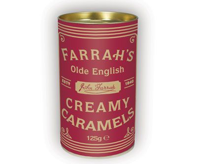 Farrah´s creamy caramels