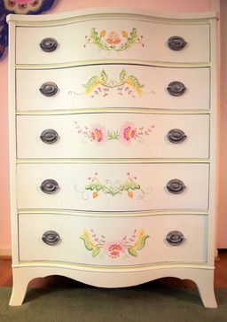 Childs Painted Dresser, Tween or Teen traditional furniture