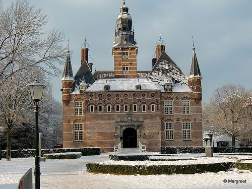 Castle in Wijchen,Netherlands
