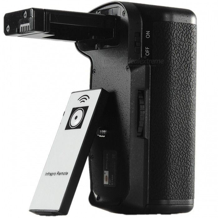 Free Shipping!   DSTE Nikon SLR Camera D3400 Infrared Handle, Battery Grip - BlackSet Auto Focus, Infrared Remote control, Apply to Nikon D3400 Camera SLR Handle