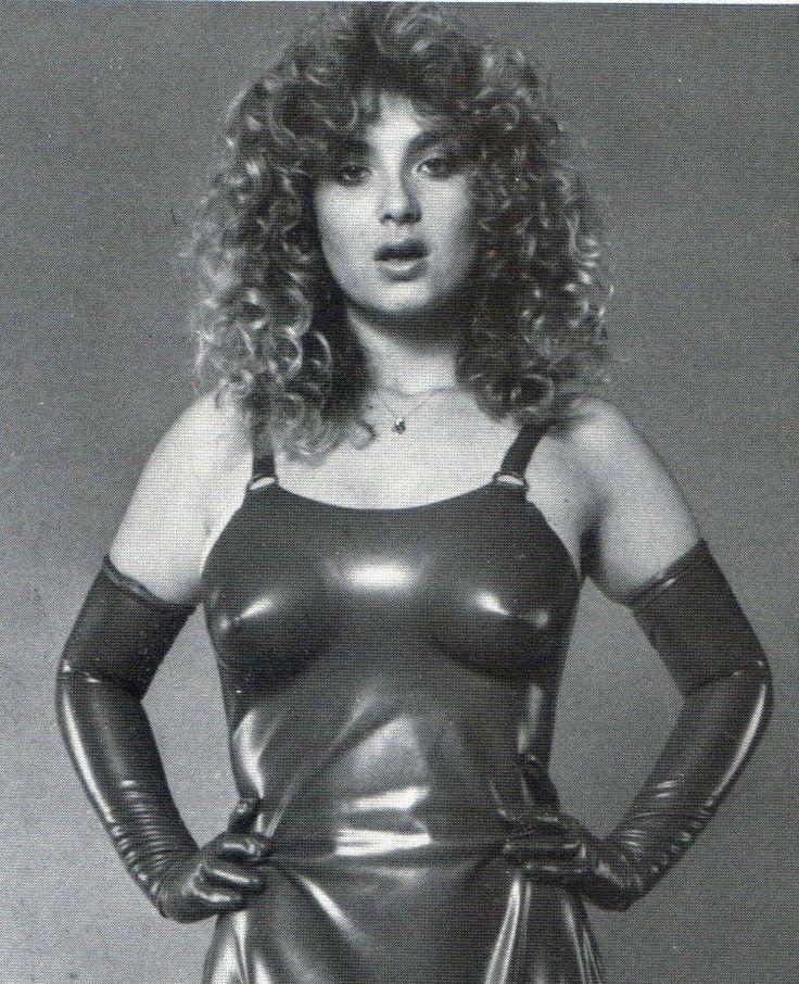 Bondage dominatrix 1960s retro black leather biker hat