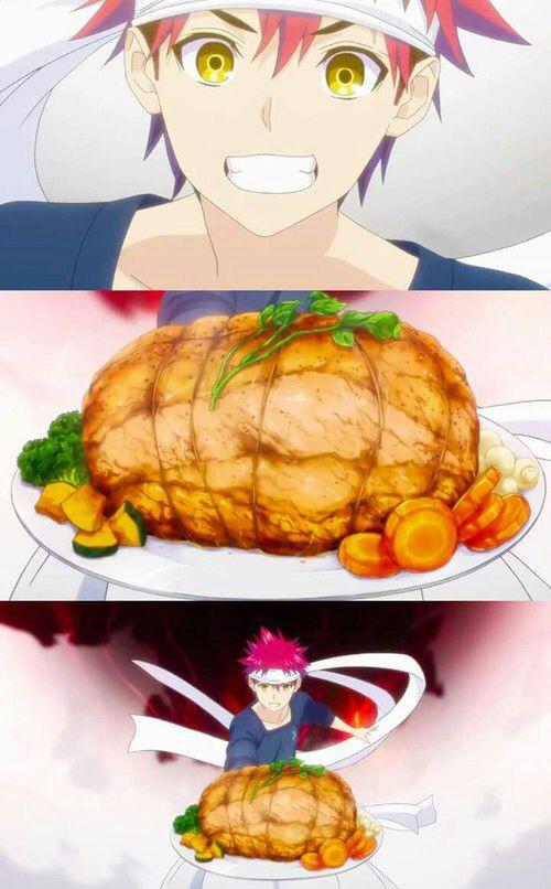 Shokugeki no soma - anime - ecchi(?