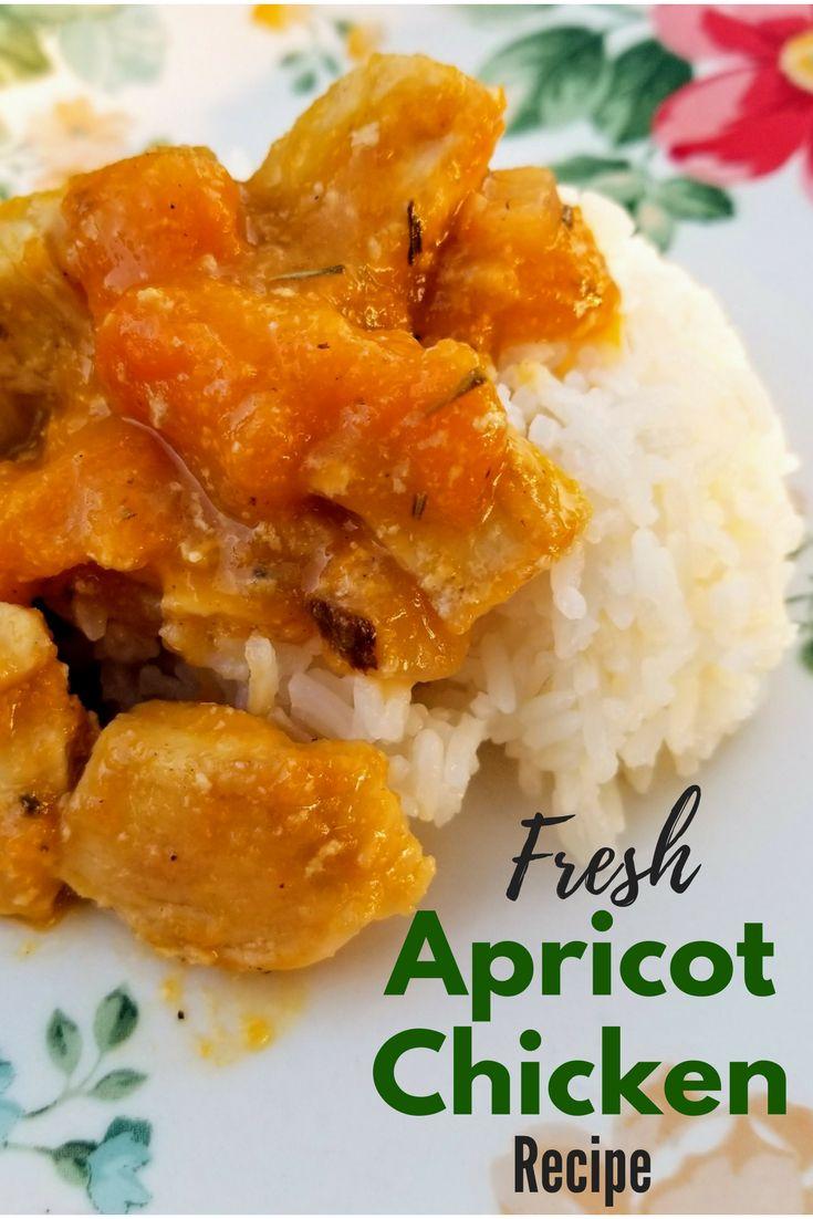 Fresh Apricot Chicken Recipe
