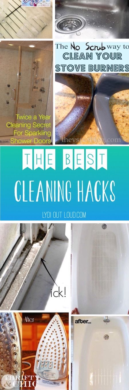 The best lazy girl cleaning hacks!