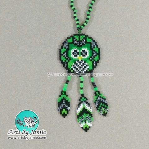 Resultado de imagem para caça sonhos hama beads