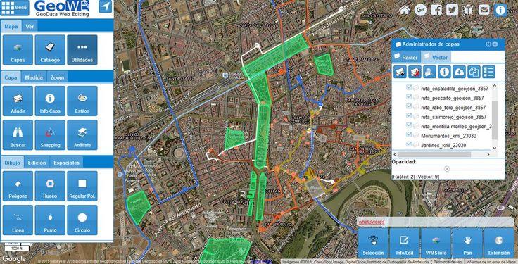 Digitaliza y comparte mapas con GeoWE