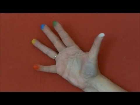 Fingerspiel die Farben